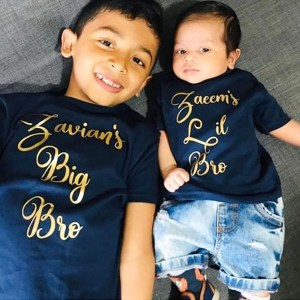 Personalised Sibling T-shirt