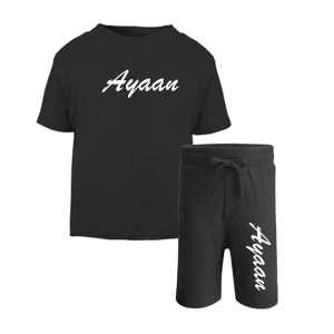 personalised Tshirt and short