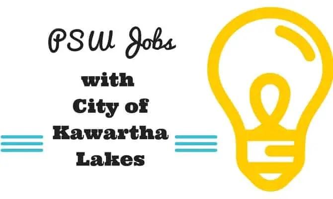 psw-jobs-with-city-of-kawartha lakes