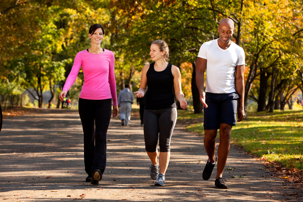 Sharing your walks and Personal Trainer Food with friends is more fun than doing it alone!