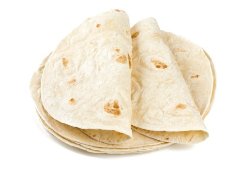A pile of carb-filled wraps.
