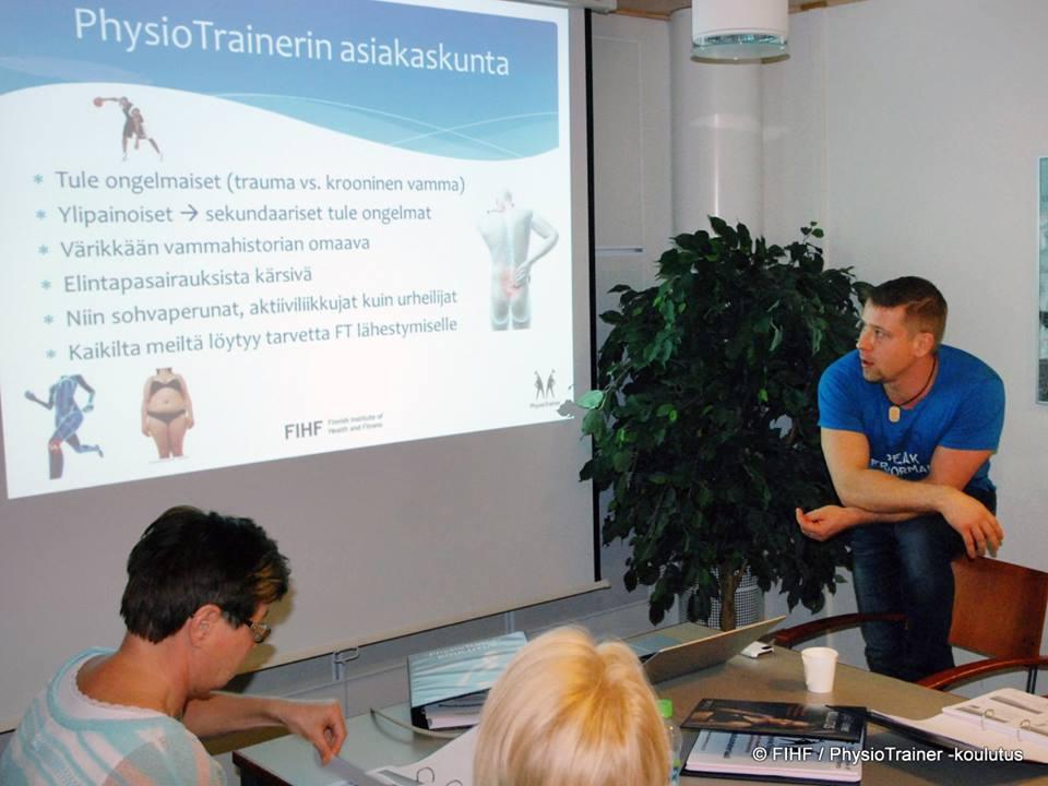 personal trainer koulutus fysioterapeuteille