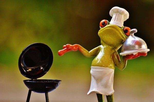 Courgette-paneer burgers van de BBQ