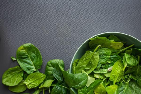 Stoofpotje met spinazie en rundvlees