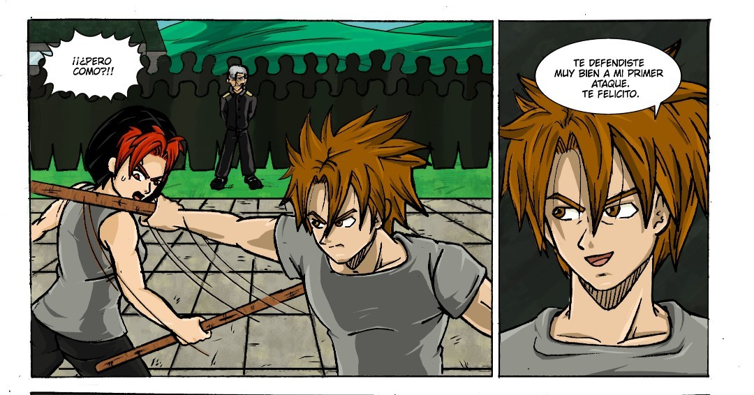 Gaspacho publicó un comic.