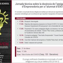 Jornada sobre #emprendimiento en Barcelona