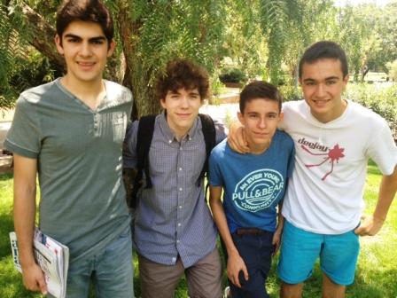 Los jóvenes emprendedores