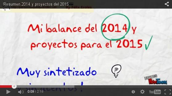 Resumen 2014 y Proyectos para 2015