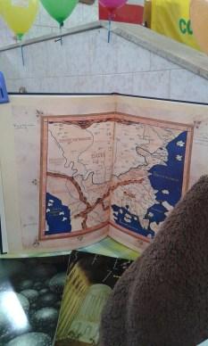 le mappe geografiche antiche e moderne
