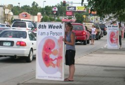 ProLife Preborn Abortion Aborted Baby Sign