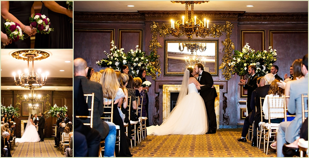 Omni Parker House Boston Fall Wedding By Person Killian
