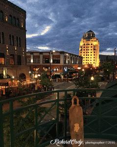Boise, Main Street, Richard Cady photographer
