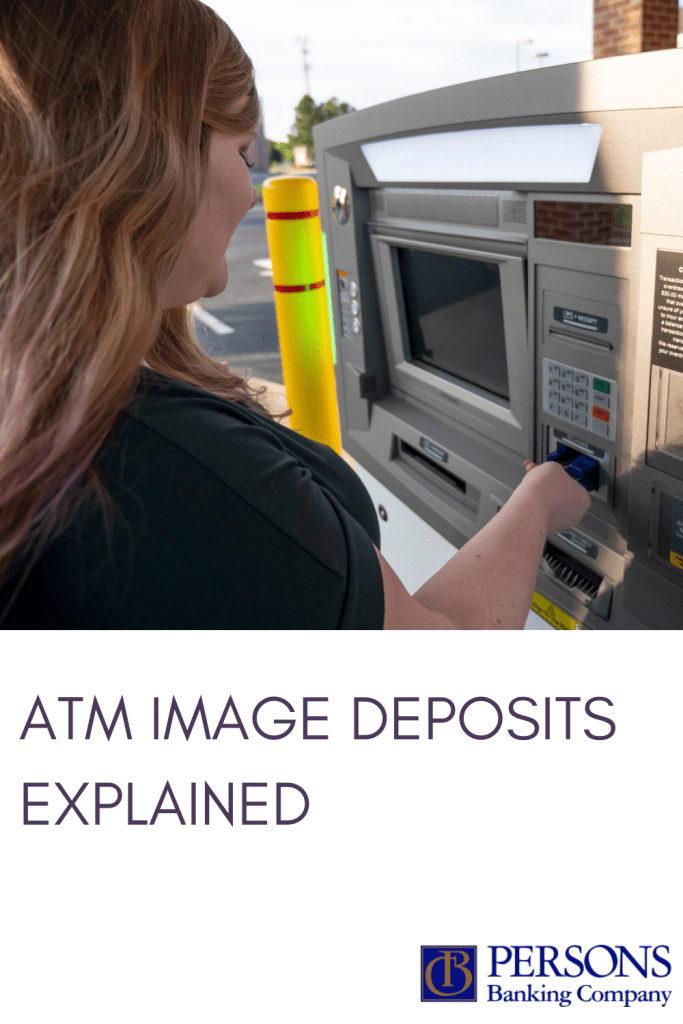 ATM image deposits at Persons Banking Company