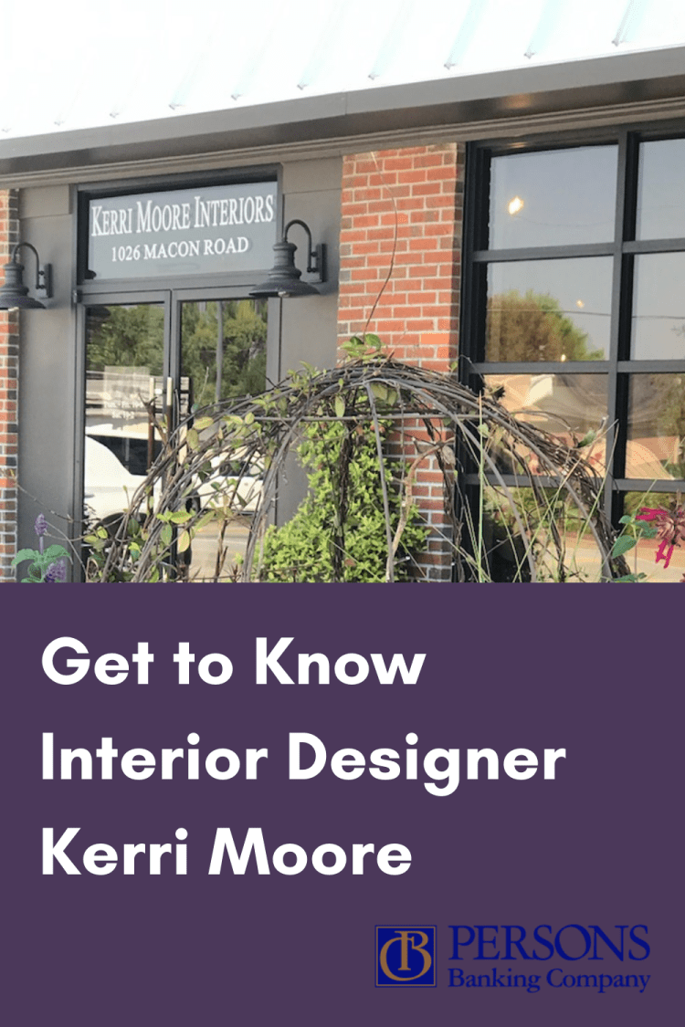 Exterior of Kerri Moore Interiors–Perry, Georgia, Interior Designer
