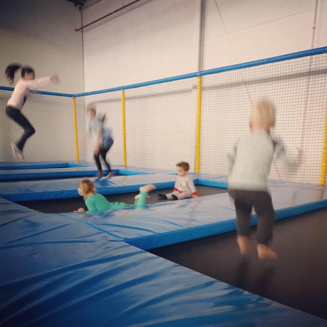 Lekker springen en spelen op mijn vrije dag