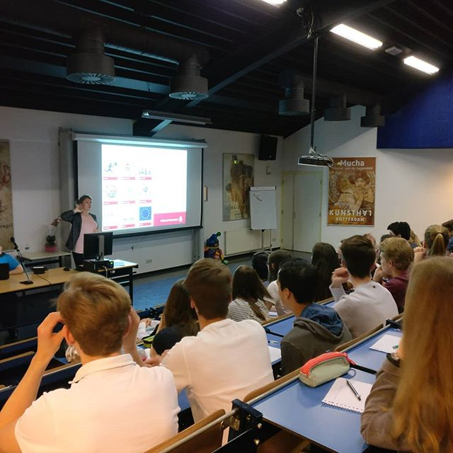 Start van de Academische Meesterproef (PWS) voor vWo 5 door @radboudpuc