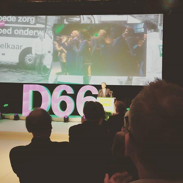 Afscheidsspeech van @apechtold can #D66. Hij verlaat de Tweede Kamer.