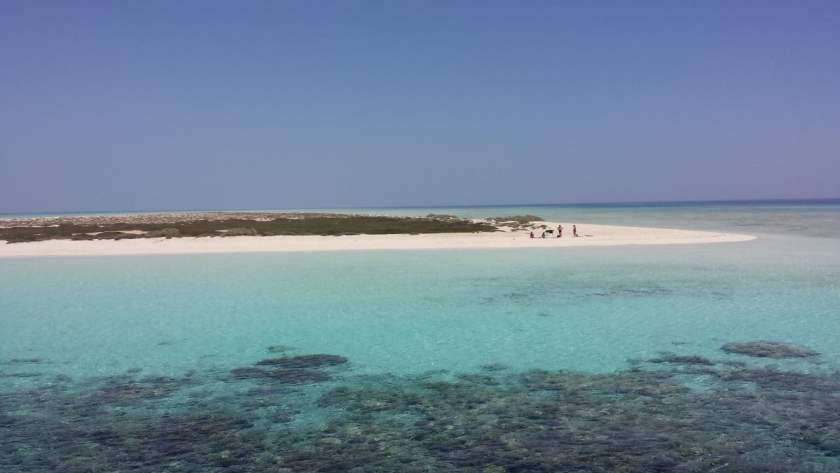 Gli atolli di Hamata