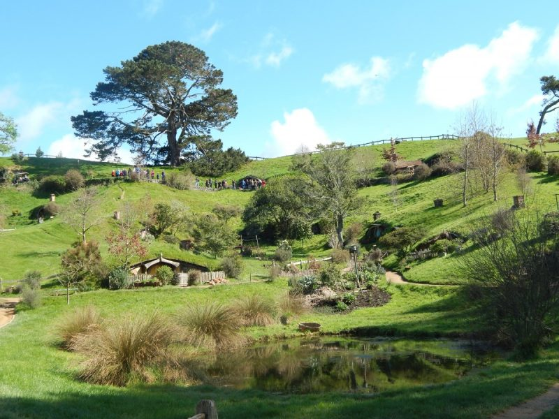 Hobbiton in Nuova Zelanda