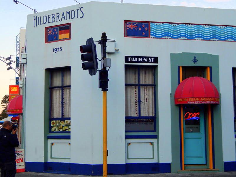 Un edificio in centro a Napier