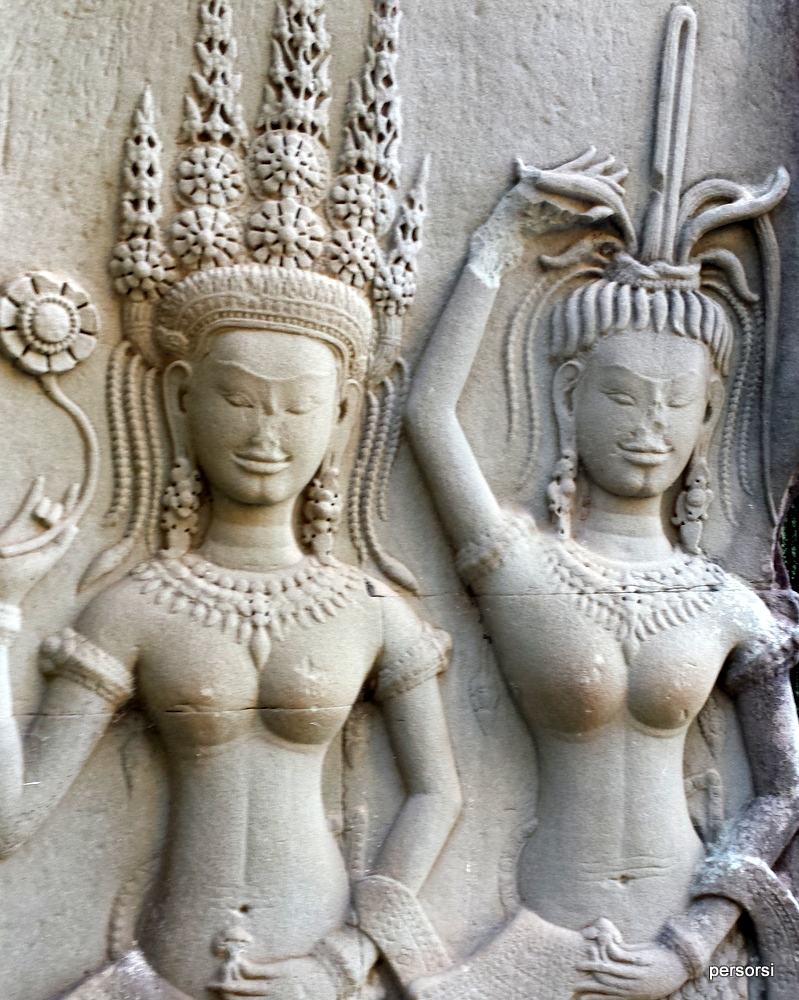 Le danzatrici apsara, Angkor Wat