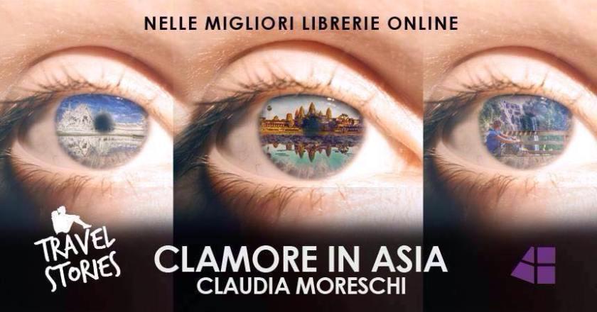 ebook di viaggio: La copertina di Clamore in Asia