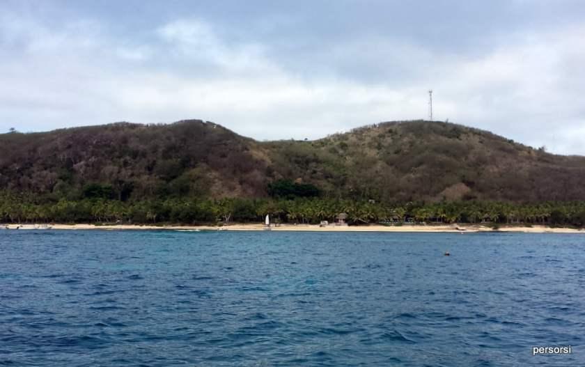 La 'nostra isola' dalla barca