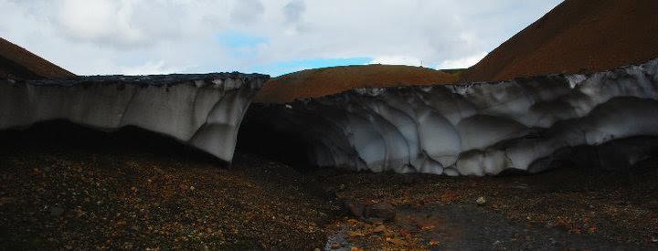 Il sentiero sul ghiaccio (Foto di Patrick Colgan, 2010)