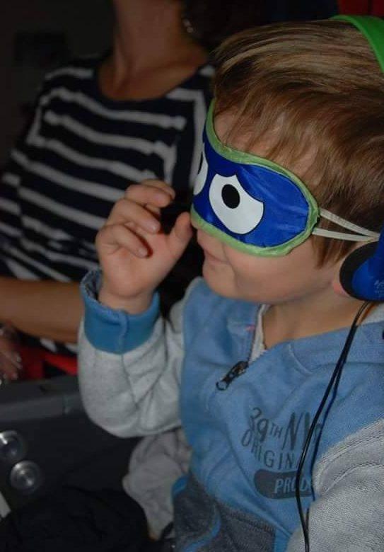 giappone con bimbi: i gadget in volo