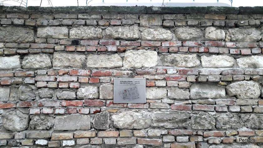 Quartiere ebraico di Budapest: il muro del ghetto