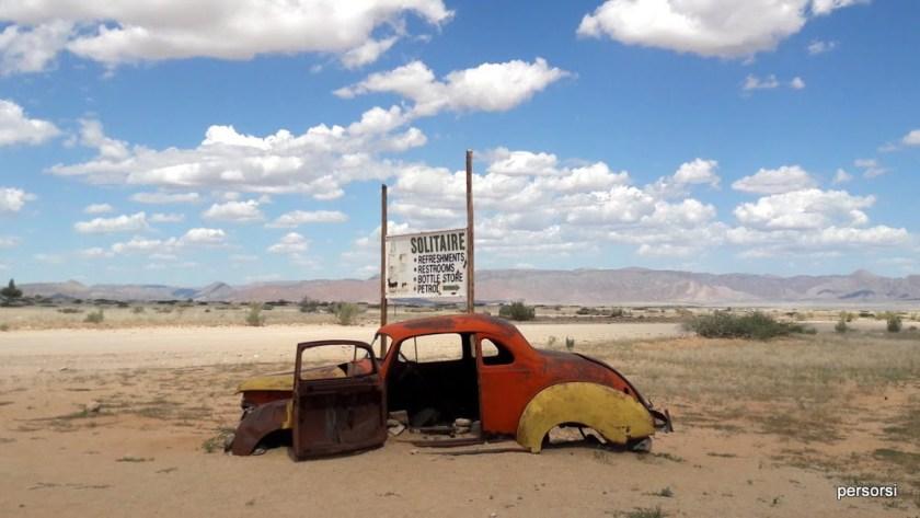 Solitaire, nel deserto della Namibia