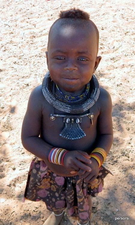 Nel villaggio himba