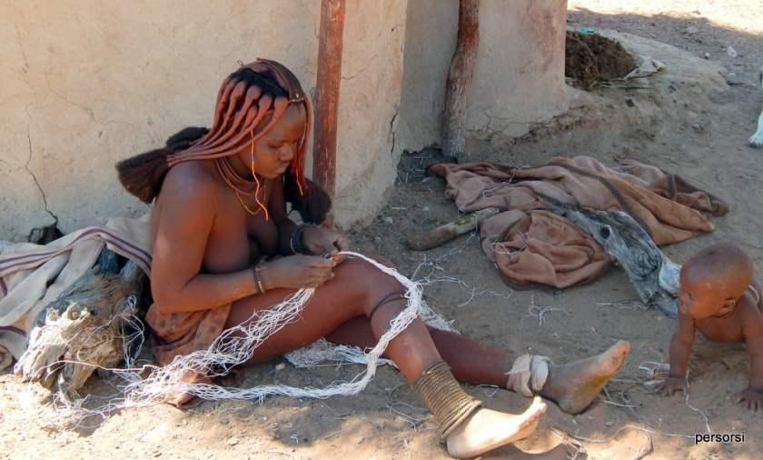 il villaggio Himba