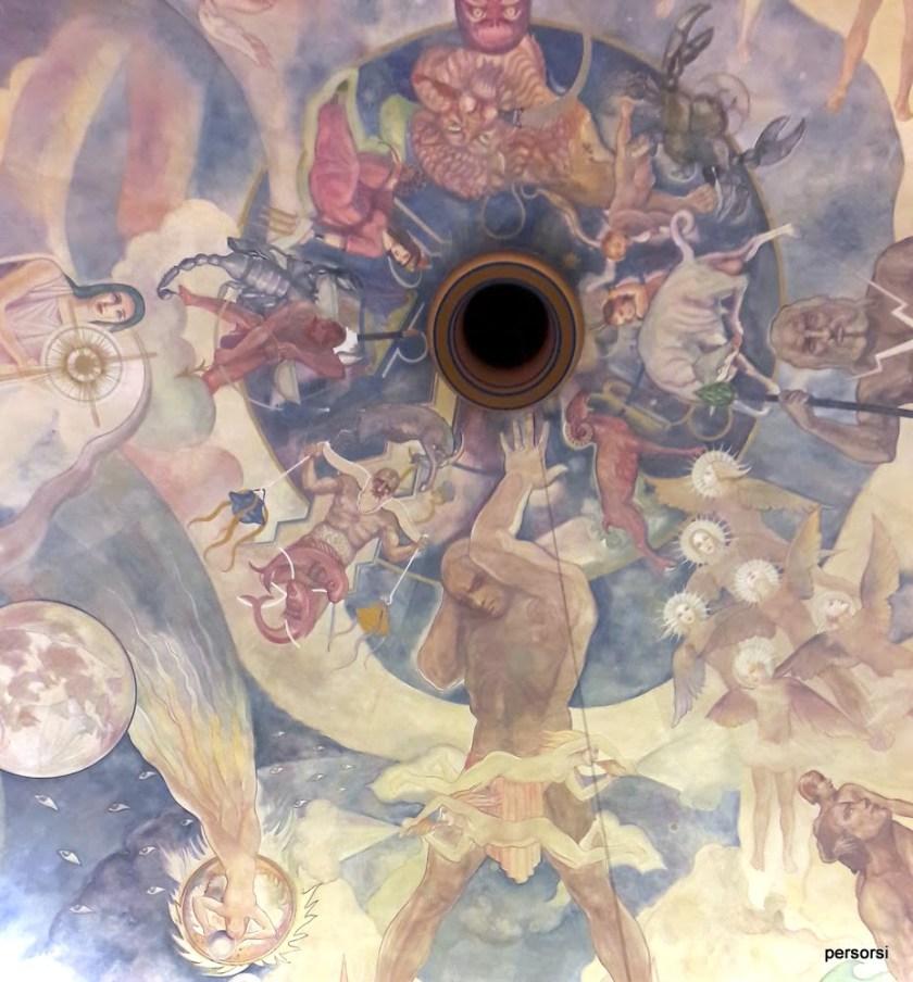 Gli affreschi del Griffith
