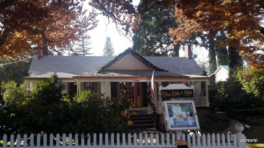 La bellissima sede di Bella Grace Vineyards, a Sutter Creek
