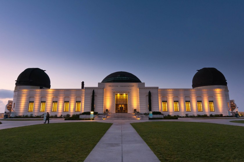 Il Griffith Observatory, di Frank Steele