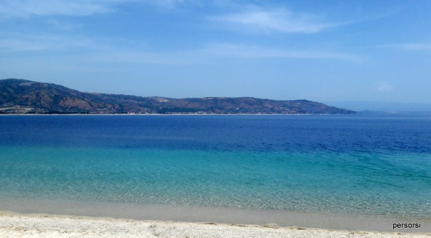 La spiaggia di Soverato