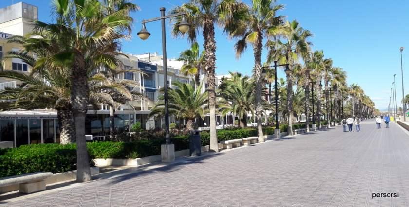 Il Lungomare di Valencia