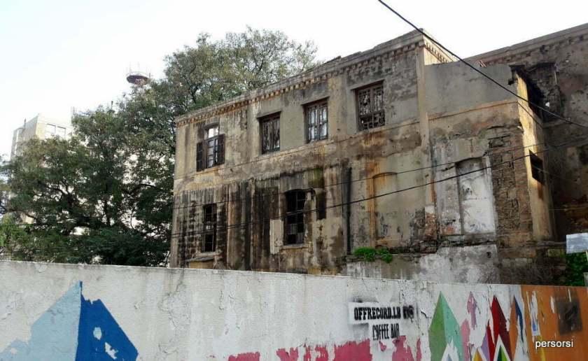 Uno degli edifici di Achrafieh