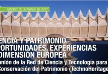 Imagen del evento TechnoHeritage en el que participa el CDTI
