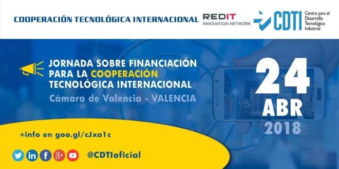 Jornada financiación para la cooperación tecnológica internacional