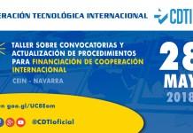 Jornada sobre convocatorias de Cooperación Tecnológica Internacional en Navarra