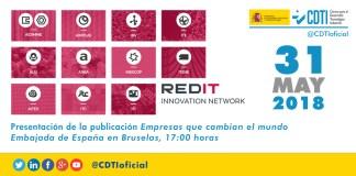 RED TECNOLÓGICA | @Redit_es presenta en Bruselas la publicación #Empresas que cambian el mundo