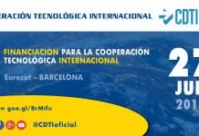 Jornada Financiación para la Cooperación Tecnológica Internacional en Barcelona