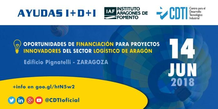 Jornada Oportunidades de Financiación para Proyectos Innovadores del Sector Logístico en Aragó