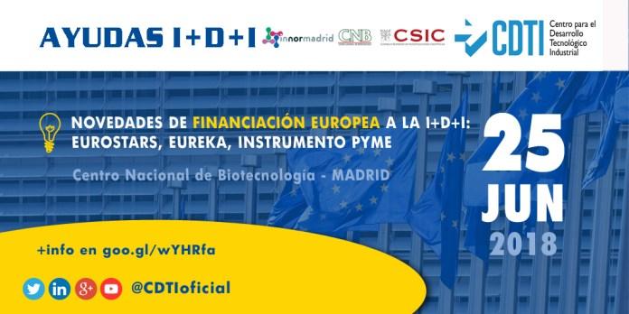 Novedades de financiación europea en Madrid