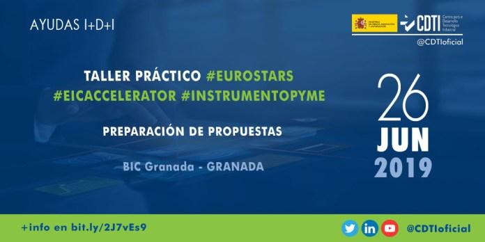 Presentación Eurostars Granada