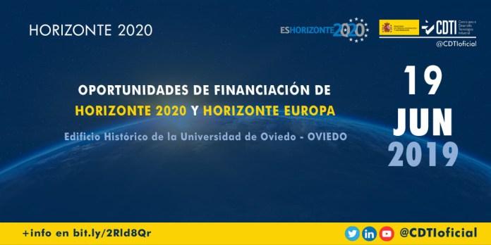 Presentación H2020 en Oviedo
