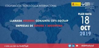 Llamada bilateral EUREKA España Argentina