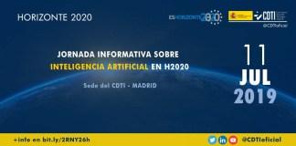 Evento sobre ayudas H2020 en Inteligencia Artificial